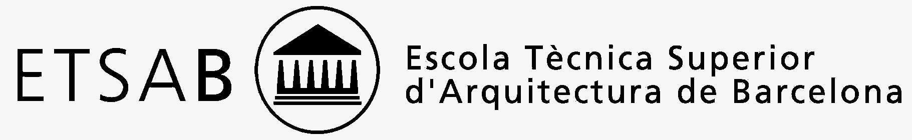 PFG-TFM en la Escola Tècnica Superior d'Arquitectura de Barcelona. ETSAB UPC