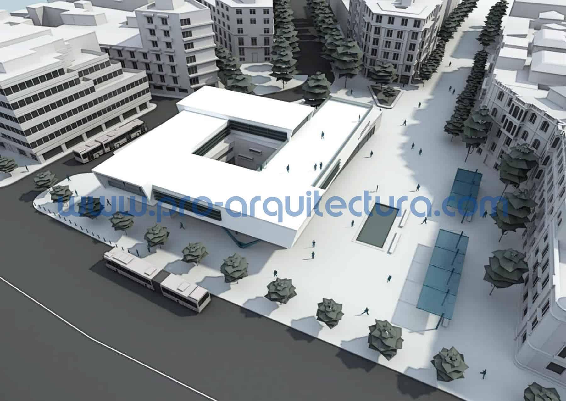 0001-06 Centro de interpretación del casco histórico - Proyecto Básico - Tu ayuda con la entrega del proyecto básico del pfc pfg tfg tfm de arquitectura.