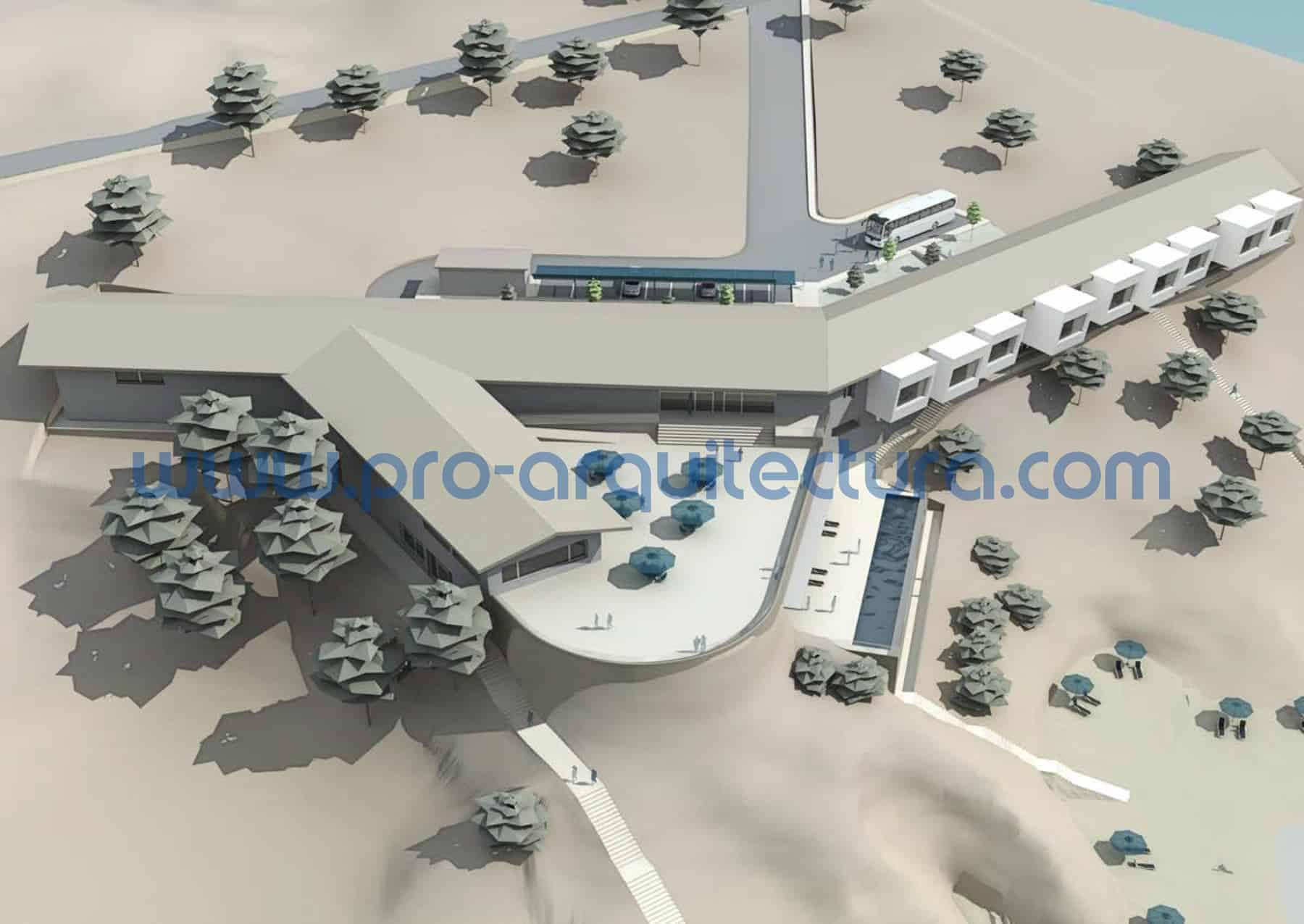 0040-09 Complejo turístico - Proyecto Básico - Tu ayuda con la entrega del proyecto básico del pfc pfg tfg tfm de arquitectura.