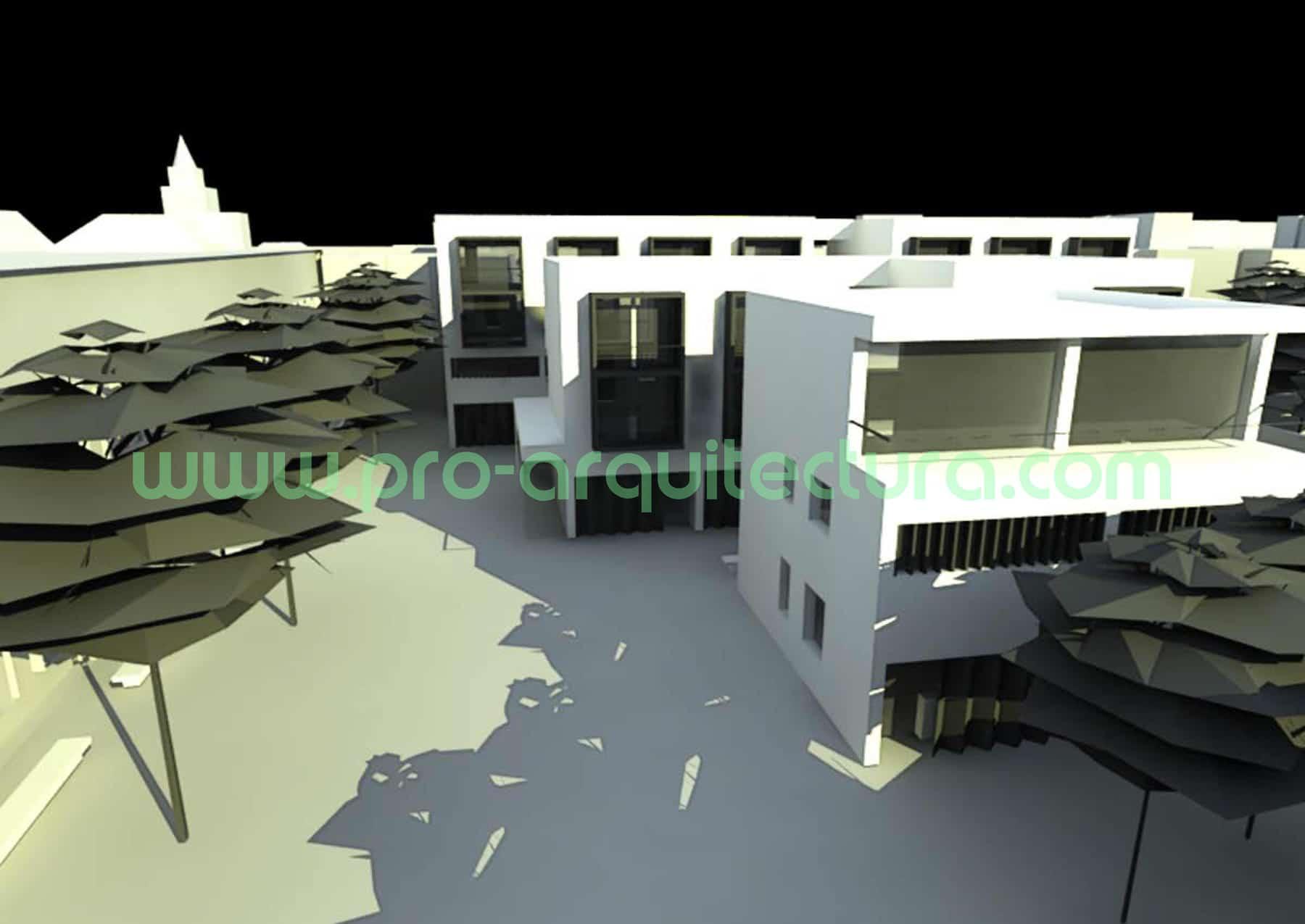 0042-03 Viviendas taller para artesanos - Proyecto Básico - Tu ayuda con la entrega del proyecto básico del pfc pfg tfg tfm de arquitectura.