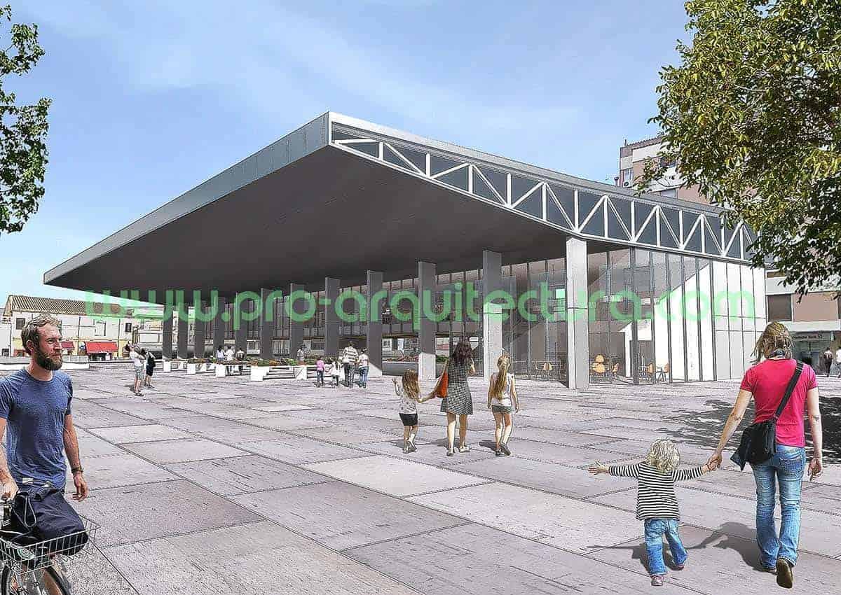 0043-04 Mercado de abastos - Proyecto Básico - Tu ayuda con la entrega del proyecto básico del pfc pfg tfg tfm de arquitectura.