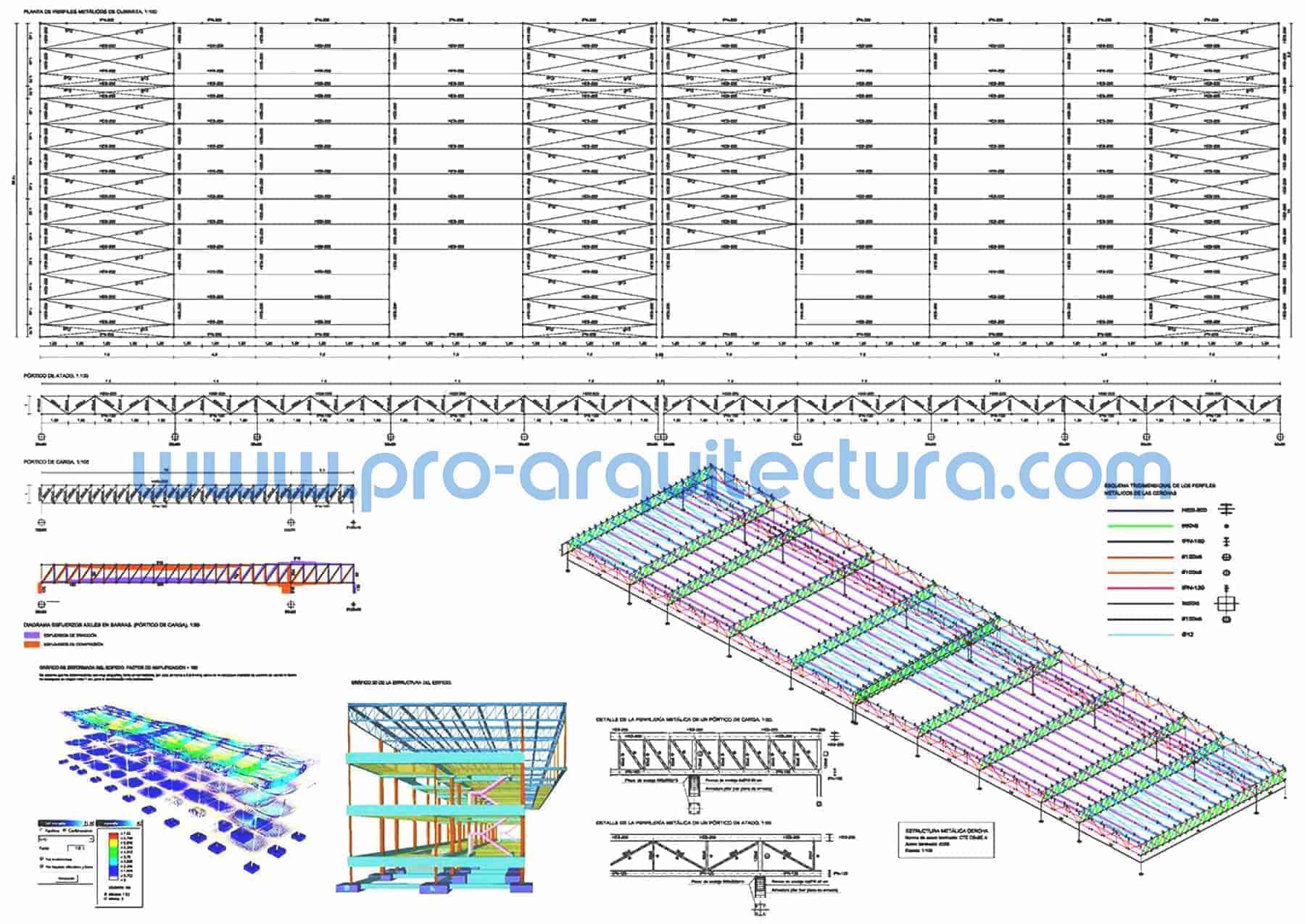 0065-06 Alojamiento turístico - Planos de estructuras - Tu ayuda con la entrega de la estructura del pfc pfg tfg tfm de arquitectura.