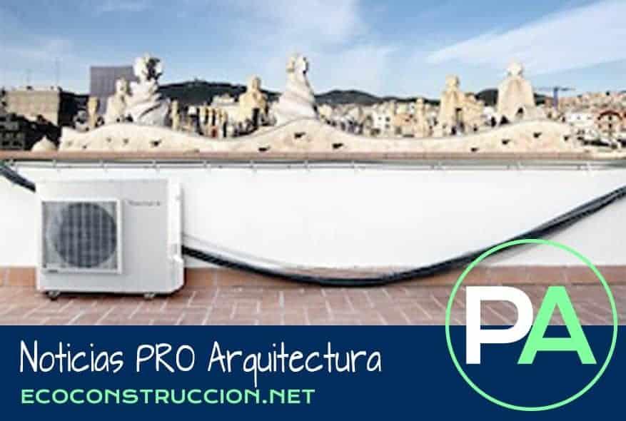 Noticias PRO Arquitectura. Aerotermia en dos viviendas modernistas.