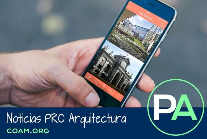 Noticias PRO Arquitectura. App de guía de arquitectura de Madrid.