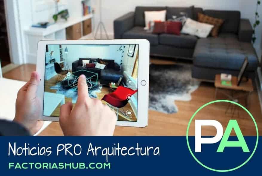 Noticias PRO Arquitectura. 5 Apps de Realidad Virtual para arquitectos.