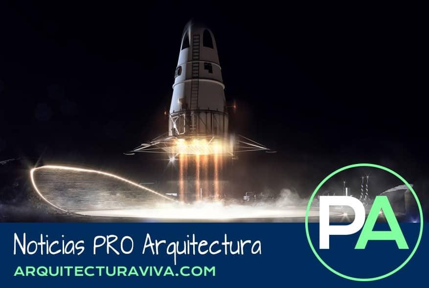 Noticias PRO Arquitectura. Asentamiento humano en la Luna, por SOM.