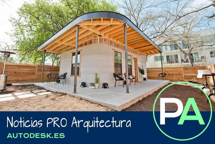Noticias PRO Arquitectura. Casas de hormigón impresas en 3D.