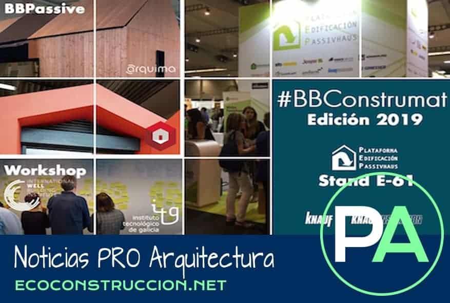 Noticias PRO Arquitectura. Las casas pasivas de BBConstrumat.