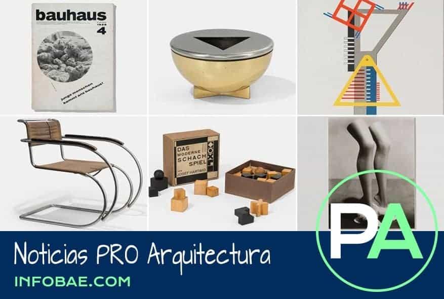Noticias PRO Arquitectura. Cien años ya de la vanguardista Bauhaus.
