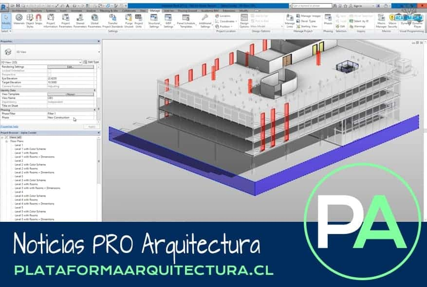 Noticias PRO Arquitectura. Consejos BIM básicos en arquitectura.