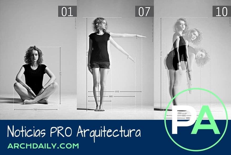 Noticias PRO Arquitectura. La cosificación humana en el Neufert.