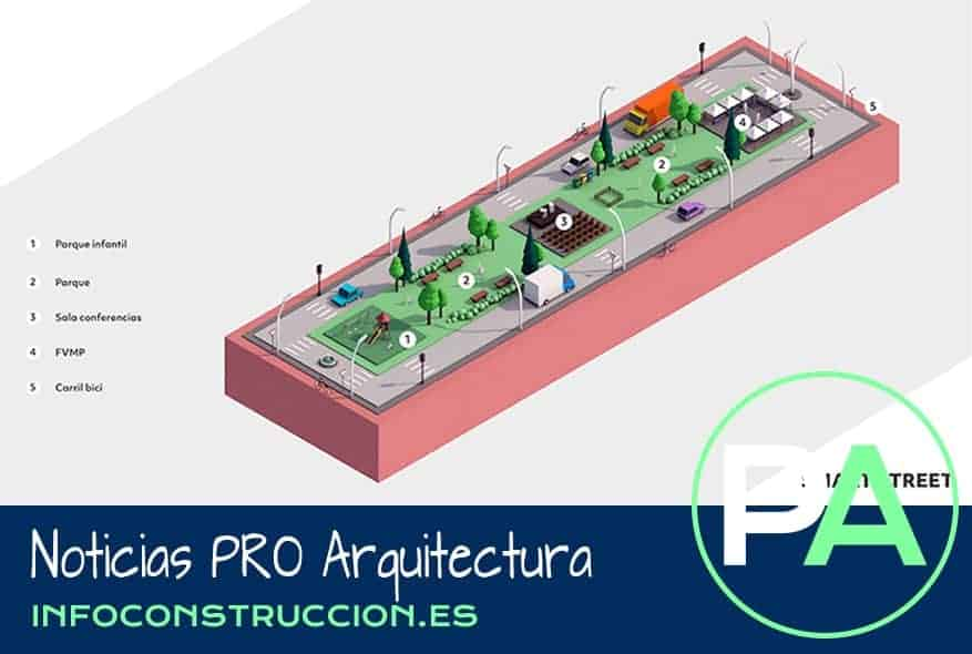 Noticias PRO Arquitectura. Ecofira recreará una 'Smart Street'.