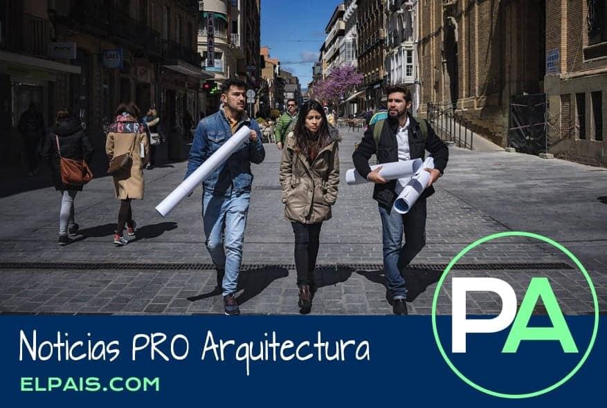 Noticias PRO Arquitectura. Huesca, la revolución de los peatones.