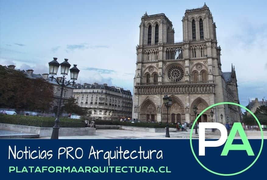 Noticias PRO Arquitectura. Incendio en Notre-Dame, patrimonio cultural.