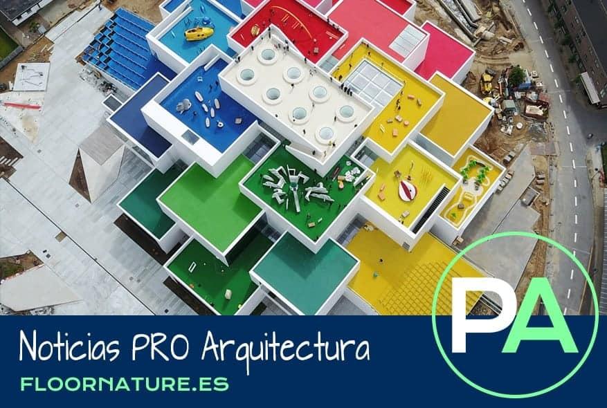 Noticias PRO Arquitectura. La Lego House de BIG es de cemento y acero.