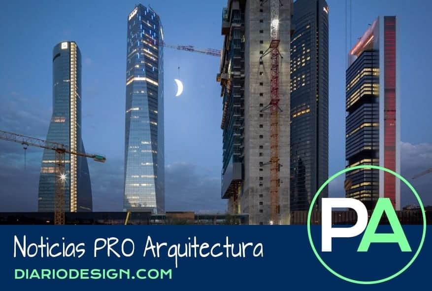 Noticias PRO Arquitectura. Una luna gigante se pasa por Madrid.
