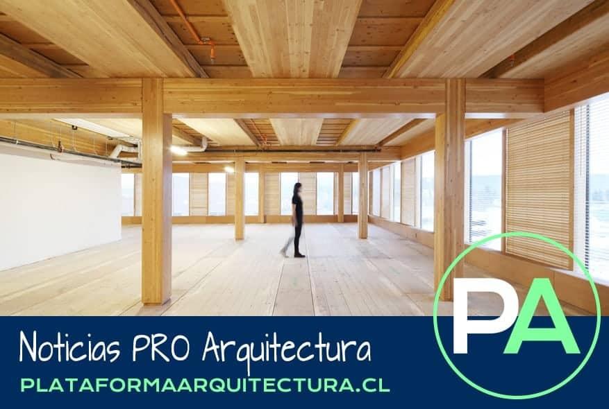 Noticias PRO Arquitectura. Madera laminada cruzada (CLT).