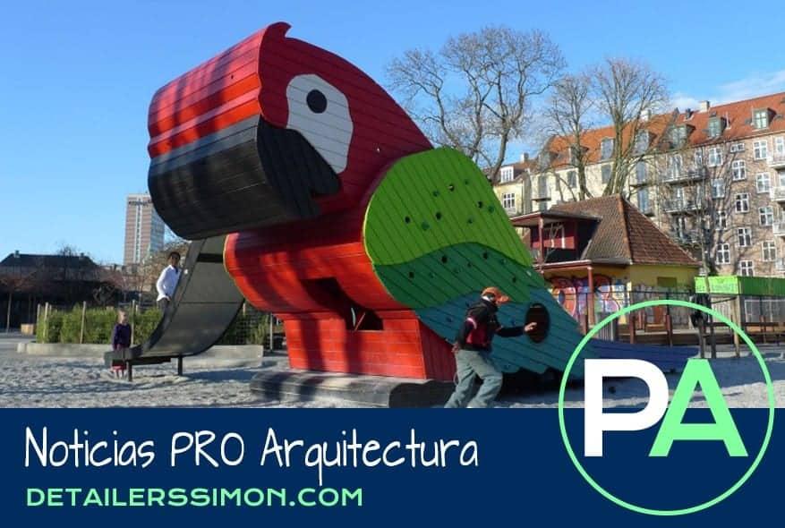 Noticias PRO Arquitectura. Parques de juegos infantiles.