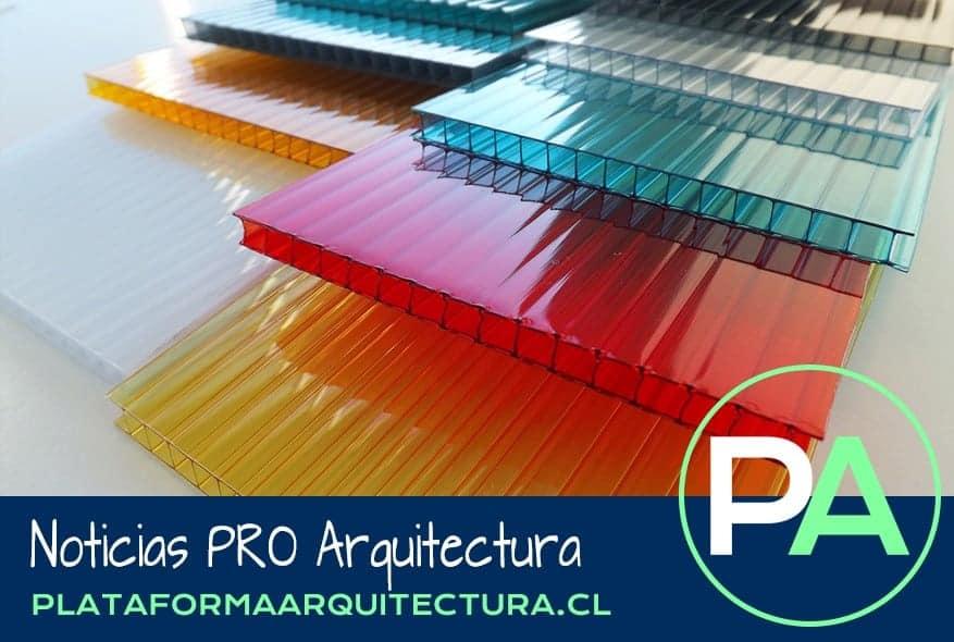 Noticias PRO Arquitectura. Policarbonatos como material de construcción.