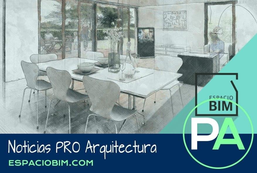 """Noticias PRO Arquitectura. Digitalización de edificios """"Scan to BIM""""."""