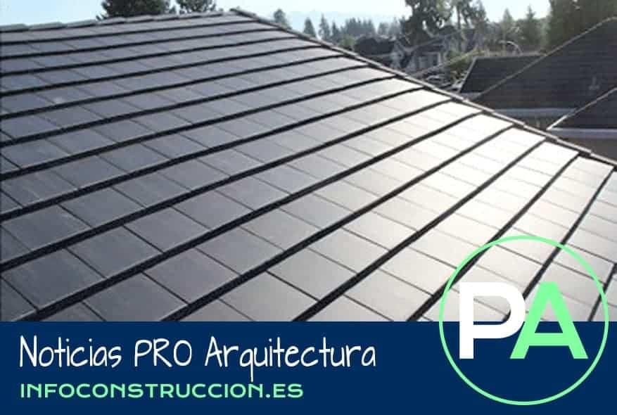 Noticias PRO Arquitectura. Teja con modulo solar PV integrado.