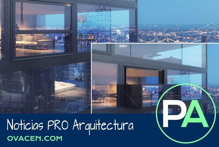 Noticias PRO Arquitectura. Carpintería exterior: Ventana balcón.