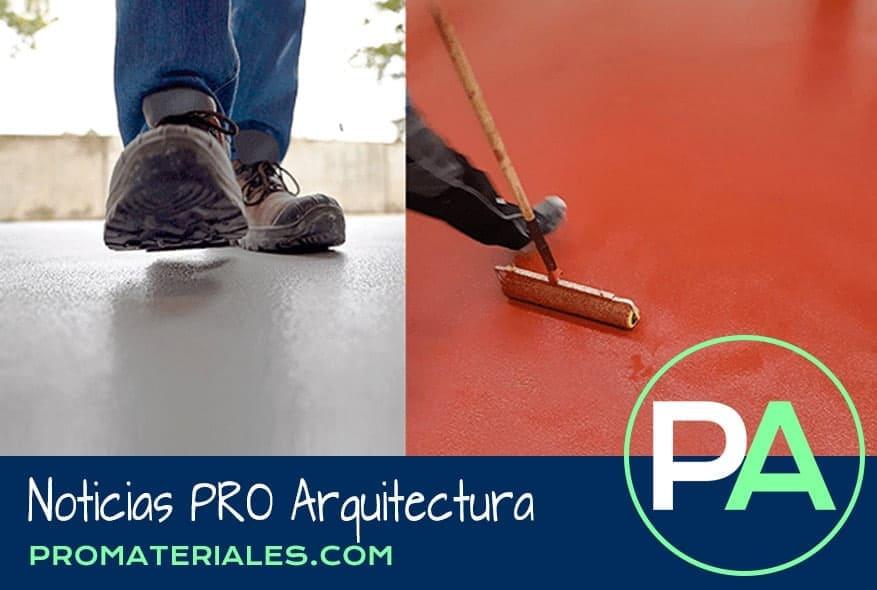 PRO Arquitectura Noticias - Nuevo pavimento mejorado Ucrete CS.