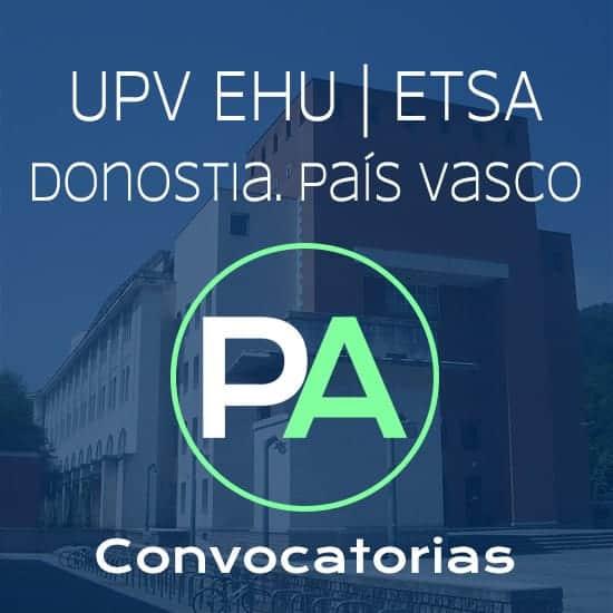 Fechas próximas convocatorias de entrega del PFC PFG TFG TFM de arquitectura en la escuela de Donostia.