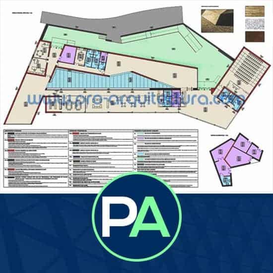 PRO Arquitectura - Ayuda con los planos de albañilería, revestimientos y acabados del PFC PFG TFG TFM.