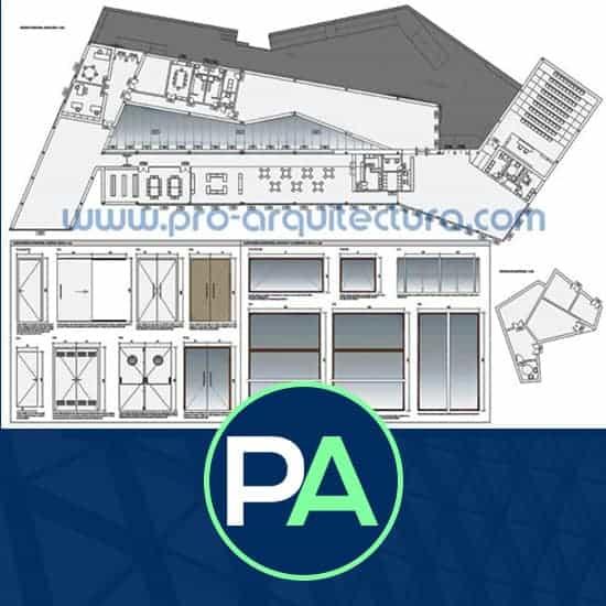 PRO Arquitectura - Ayuda con el plano de carpinterías del PFC PFG TFG TFM