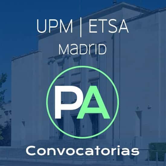 Fechas próximas convocatorias de entrega del PFC PFG TFG TFM de arquitectura en la escuela de Madrid.
