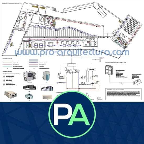 PRO Arquitectura - Ayuda con la instalación de climatización y ventilación del PFC PFG TFG TFM.