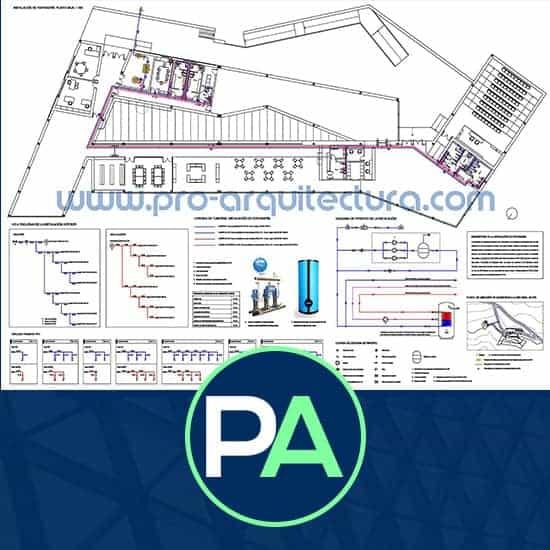 PRO Arquitectura - Ayuda con la instalación fontanería, abastacimiento de AFS y ACS del PFC PFG TFG TFM.