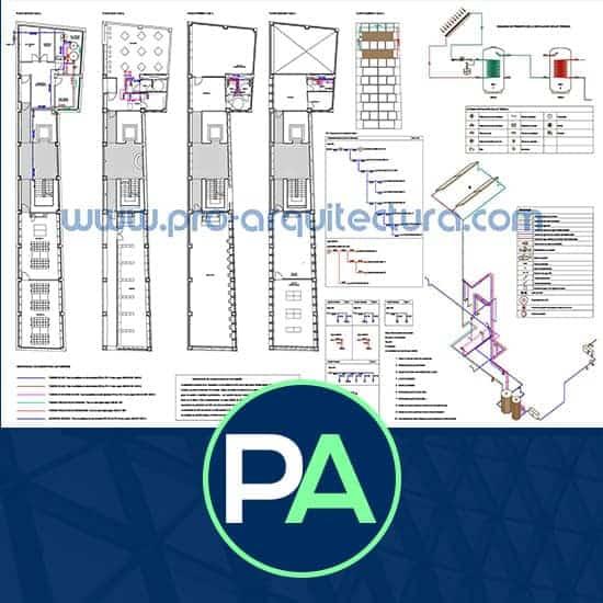 PRO Arquitectura - Ayuda con la instalación solar térmica del PFC PFG TFG TFM.
