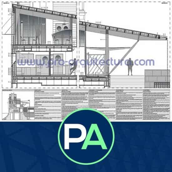 PRO Arquitectura - Ayuda con los detalles constructivos del PFG - Sección constructiva.