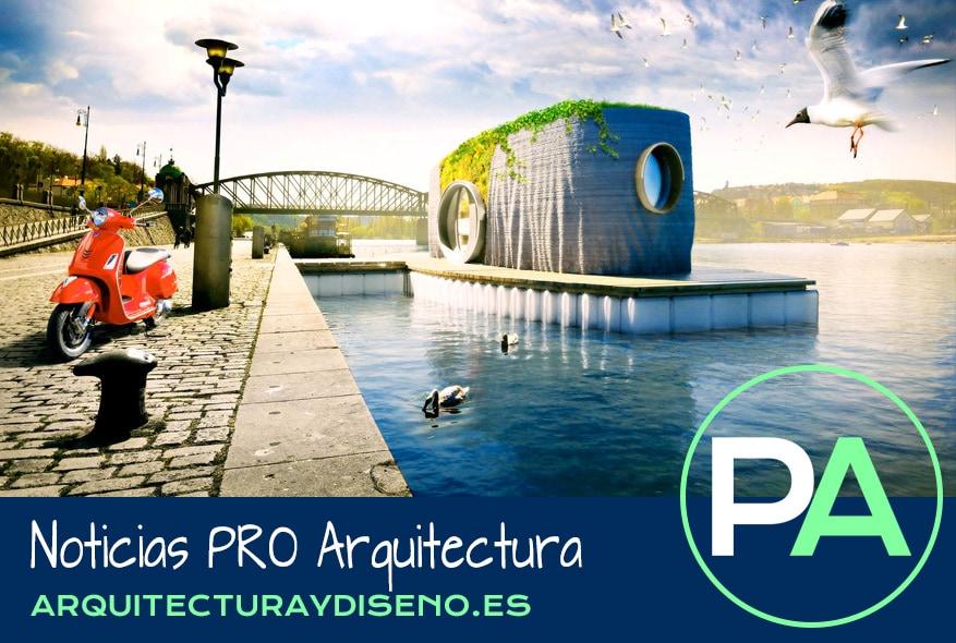 PRO Arquitectura Noticias - Casa impresa en 3D en 48 horas.
