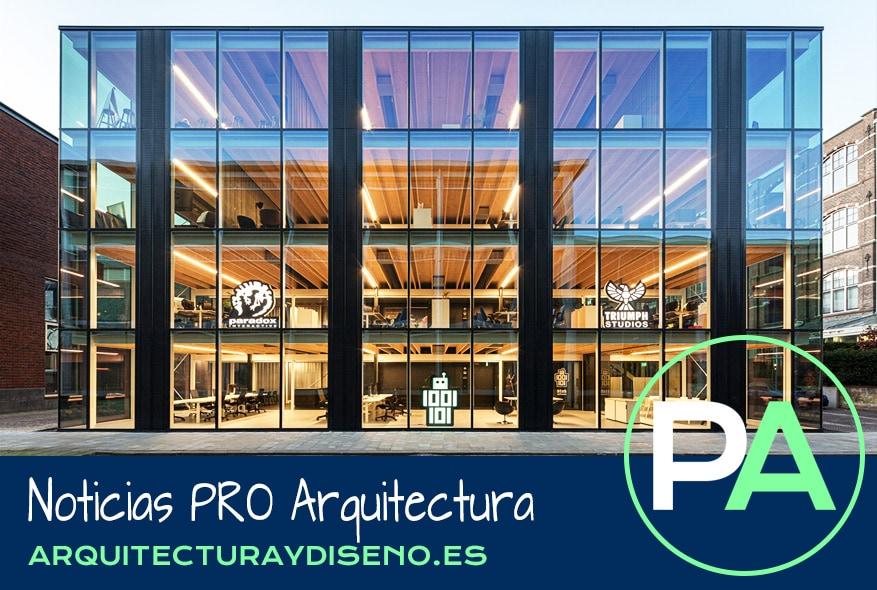 PRO Arquitectura Noticias - Un edificio de oficinas desmontable.
