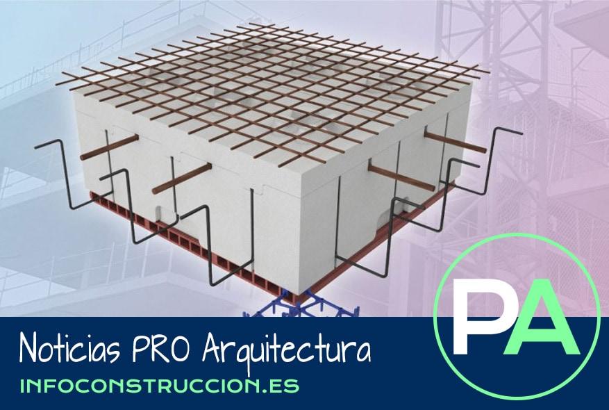 PRO Arquitectura Noticias - Forjado reticular ligero Fractalys.