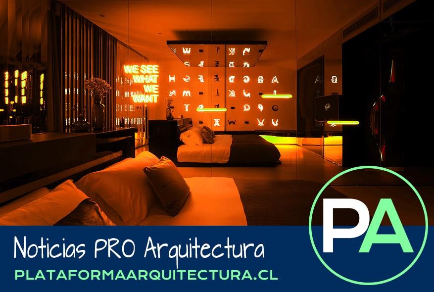PRO Arquitectura Noticias - Luces de neón para crear espacios.